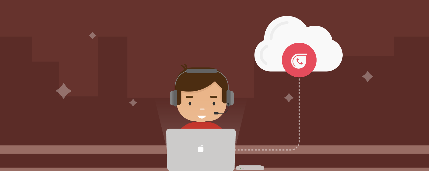Call center software on cloud