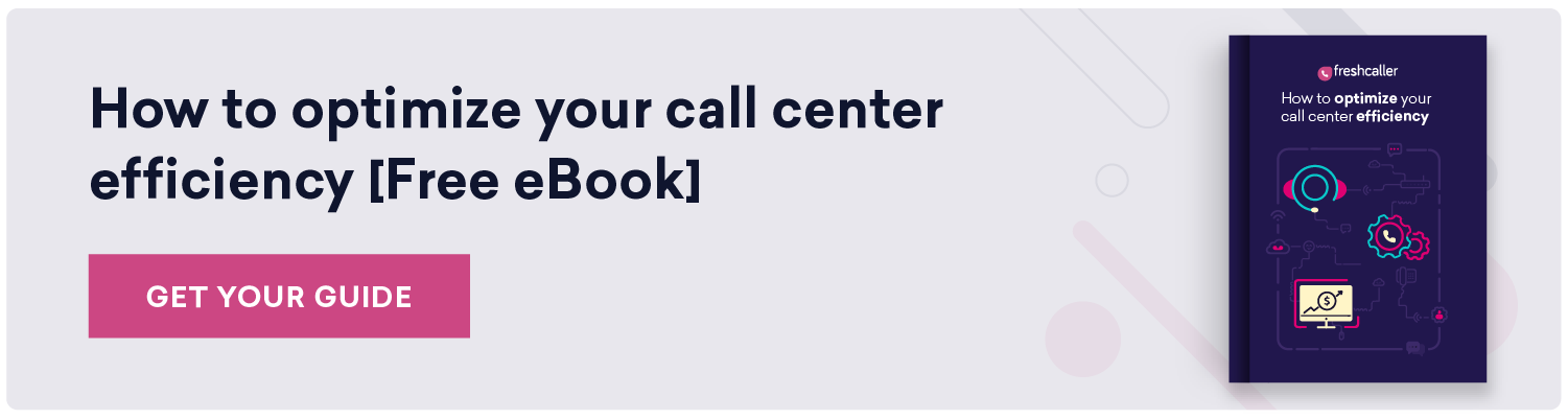 How to optimise your call center efficiency: an ebook