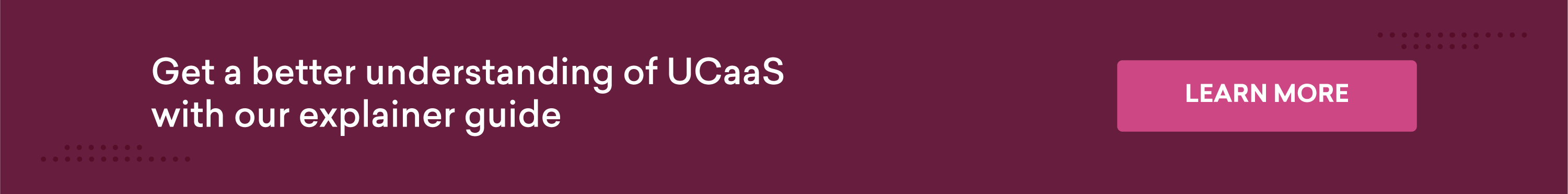 Get a better understanding of UCaaS with our explainer guide