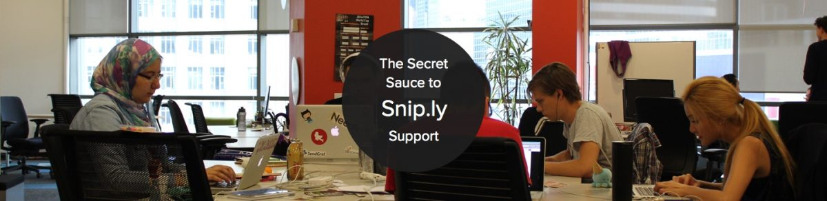 How Snip.ly Curate Customer Love with Their Awesome Support