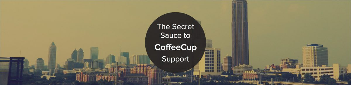 Blending Support and Design, the CoffeeCup way