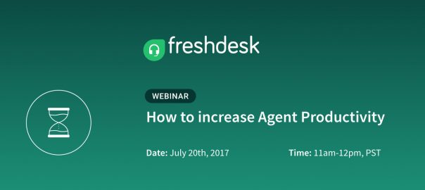 Webinar: How to increase Agent Productivity