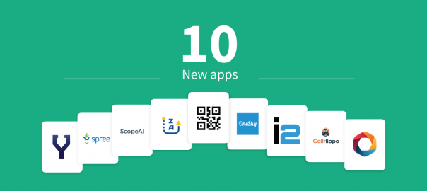 10 new apps in the Freshworks Marketplace