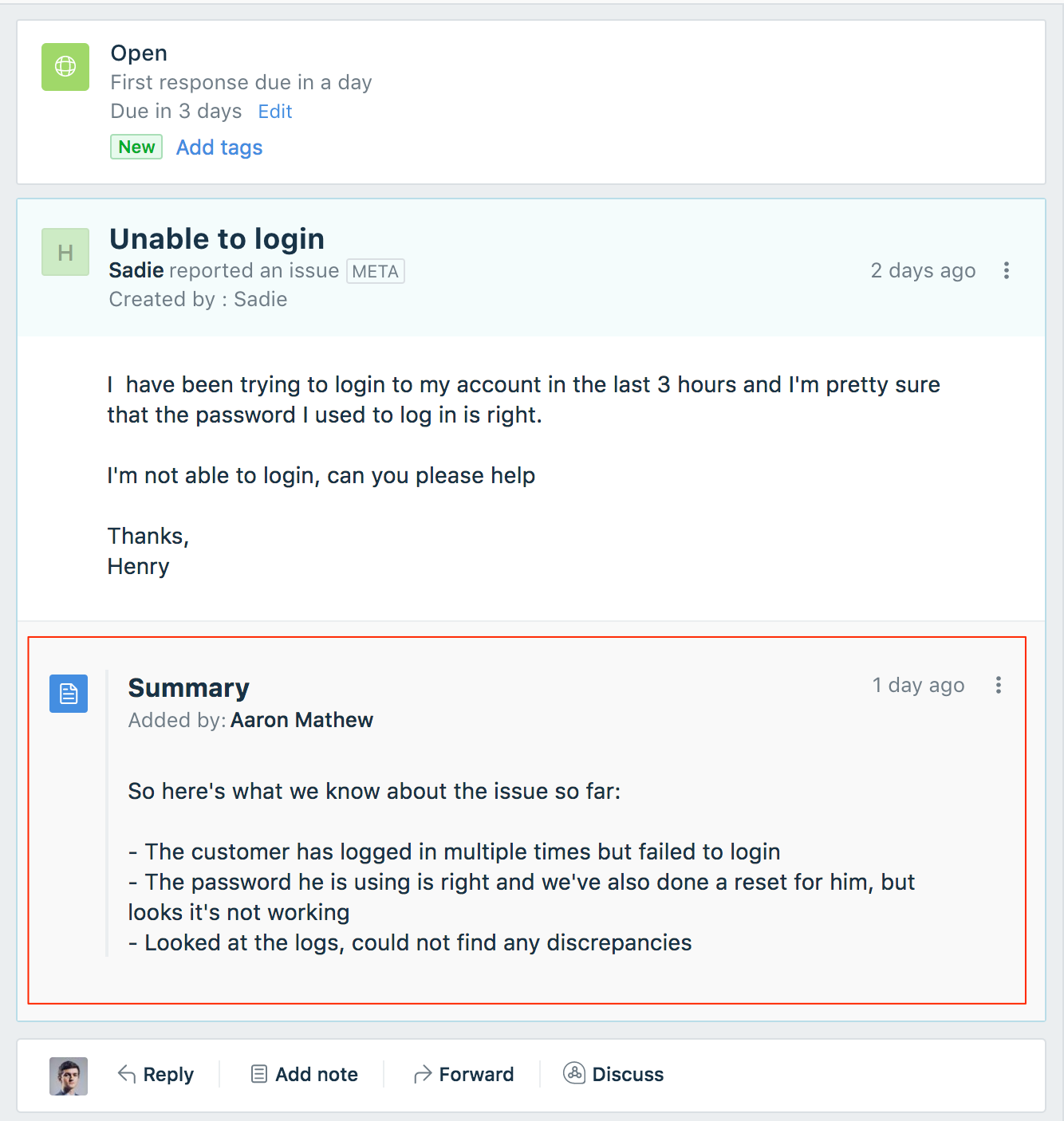 Freshdesk customer support-summary_app