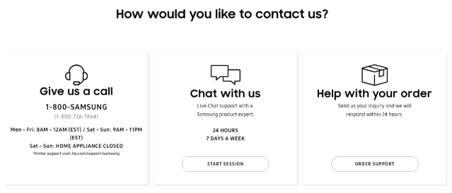 multichannel support-How to contact