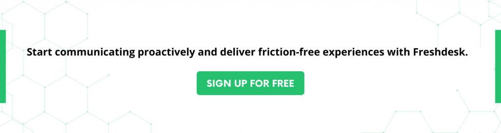 Friction-free experiences