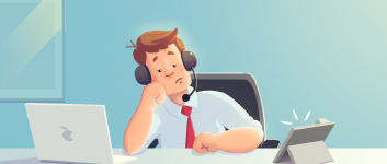 Common Pain Points Support Agents Face and How to Solve Them Using a Contact Center Software