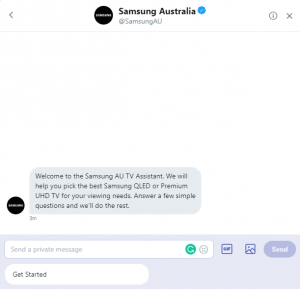 Samsung-chatbot-recommends-TV