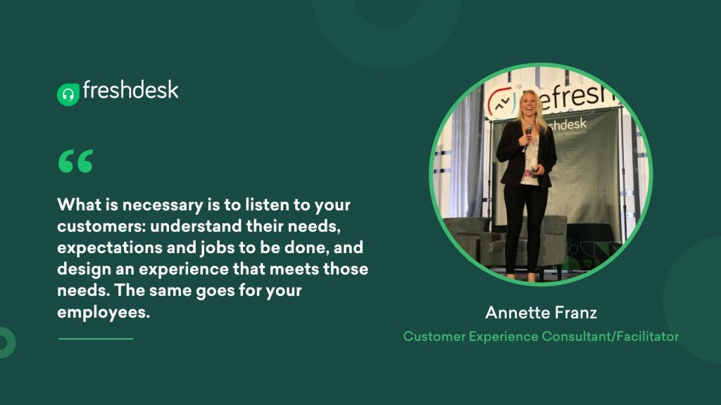 Annette Franz - Customer Service Quotes