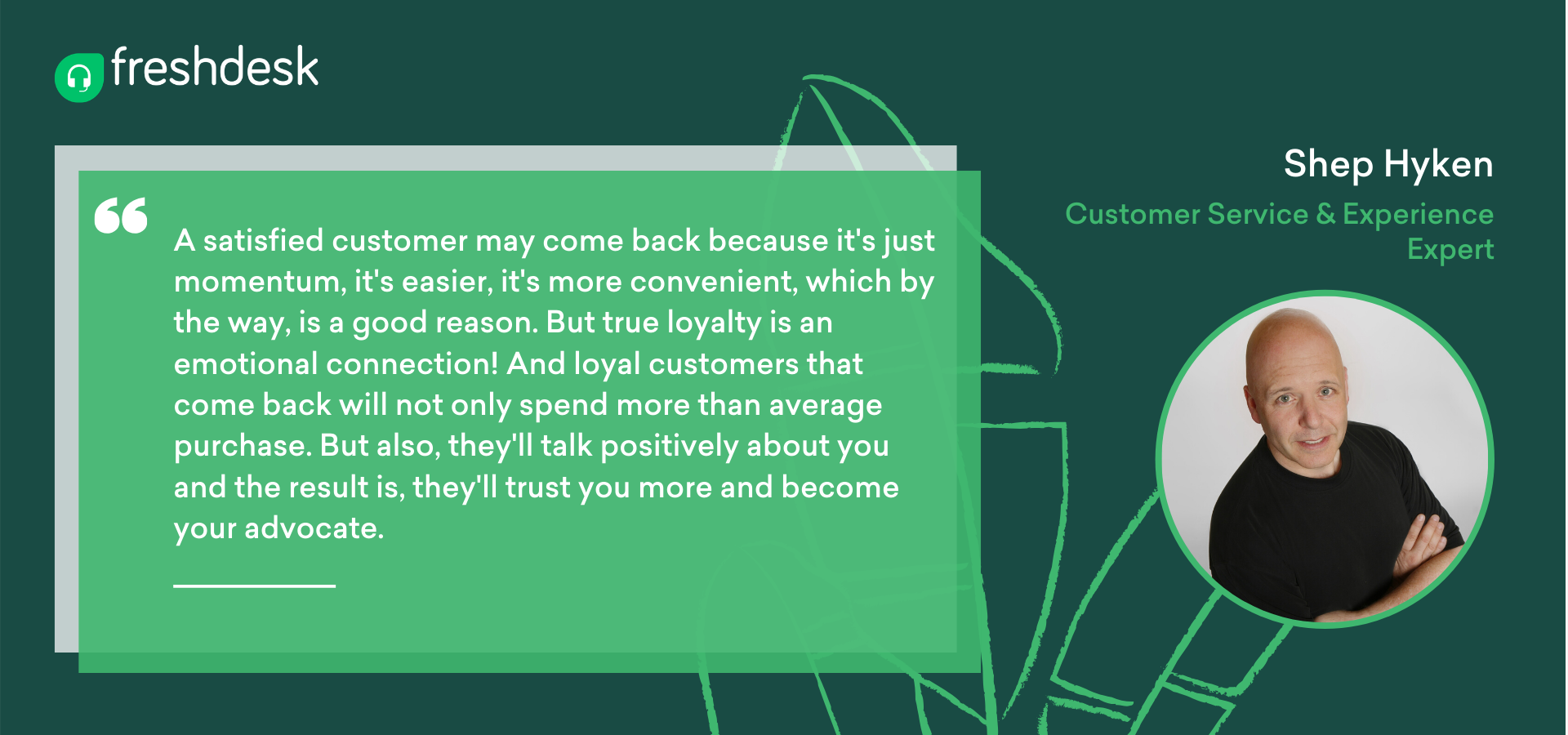 Shey Hyken on loyal customers for how to build a custoemr community