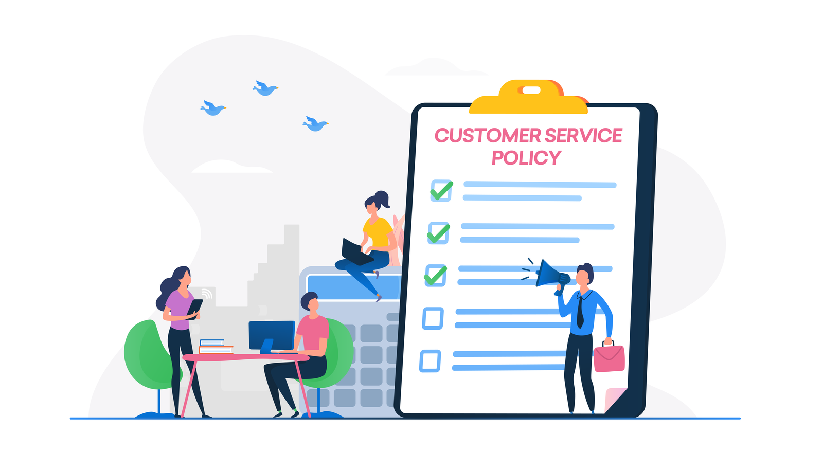 Blog cover for customer service policy