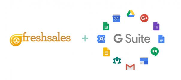 Freshsales is on Google Apps Marketplace now