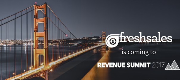 Freshsales @ Revenue Summit 2017!