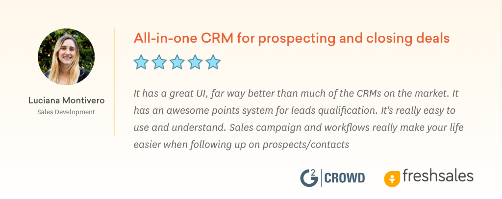All in one CRM for Small Business