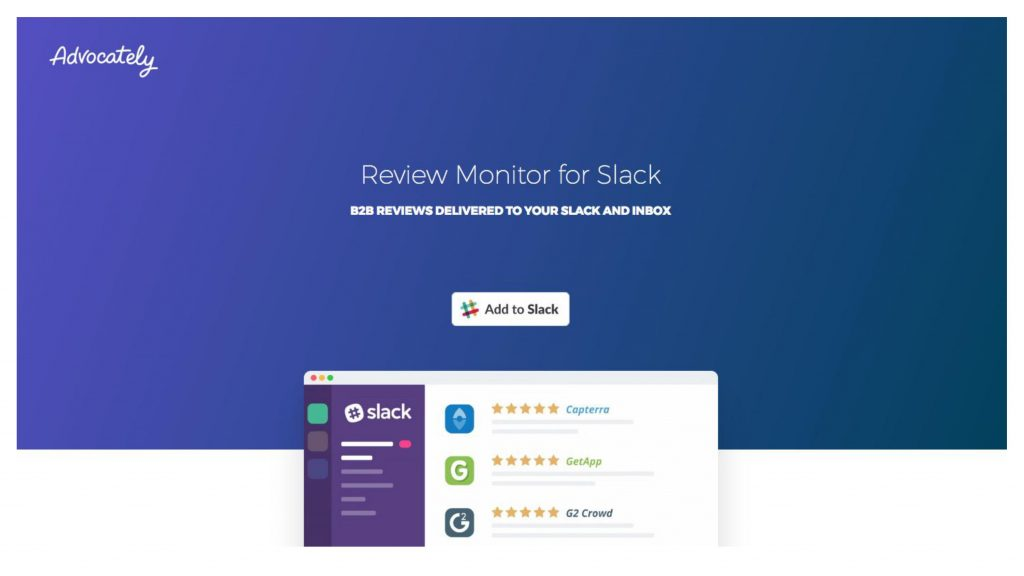 Going from 0-100 signups: Review Monitor for Slack