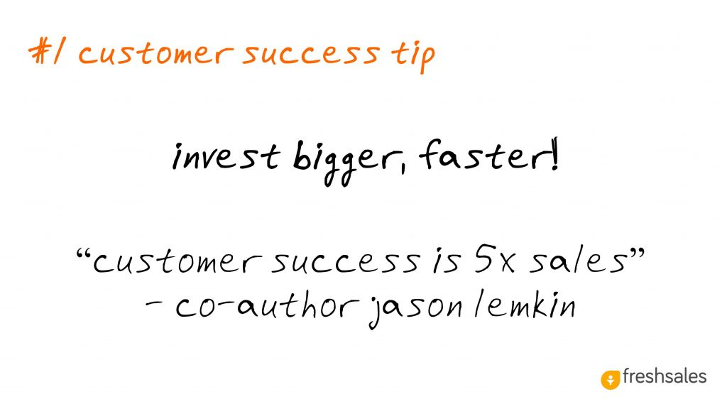 Predictable Revenue: #1 Customer Success Tip