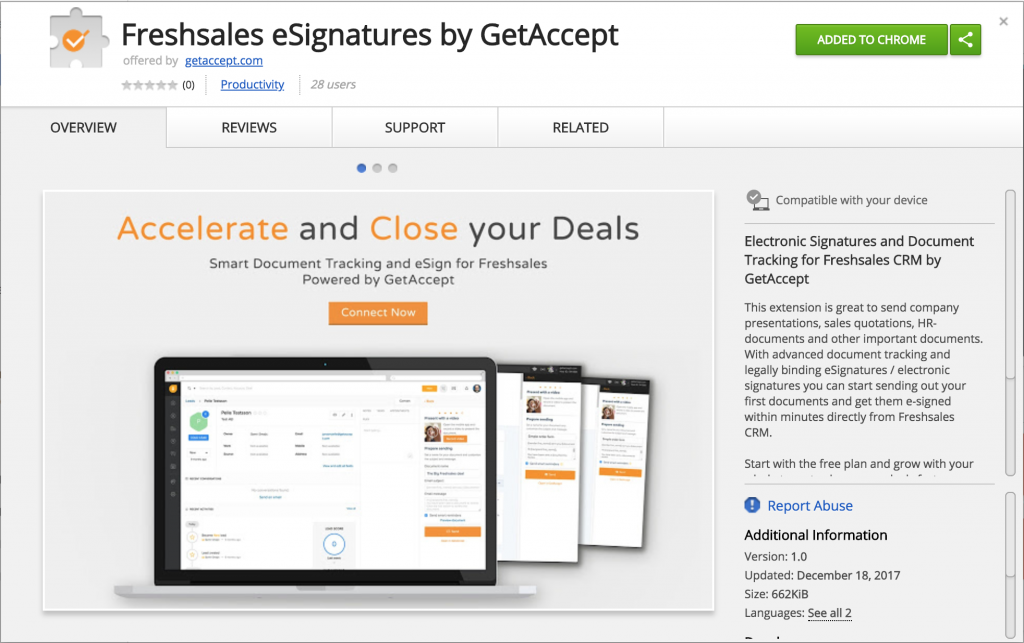 Fsales-GetAccept-Chrome-Ext