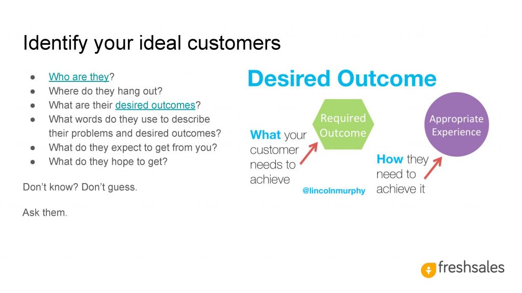 Growth channels to acquire SaaS customers - Identify your ideal customers