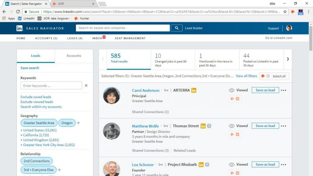 How to generate leads on LinkedIn - LinkedIn Sales Navigator