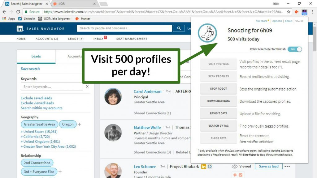 How to generate leads on LinkedIn - Dux-Soup