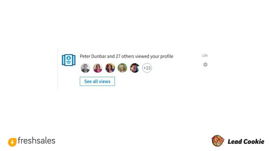 How to generate leads on LinkedIn - Profile Visits