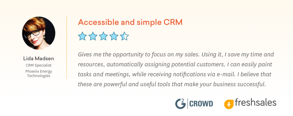 Accessible and Simple CRM Software - Freshsales