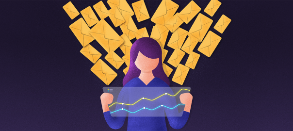 Track the performance of your bulk emails with our new metrics page!