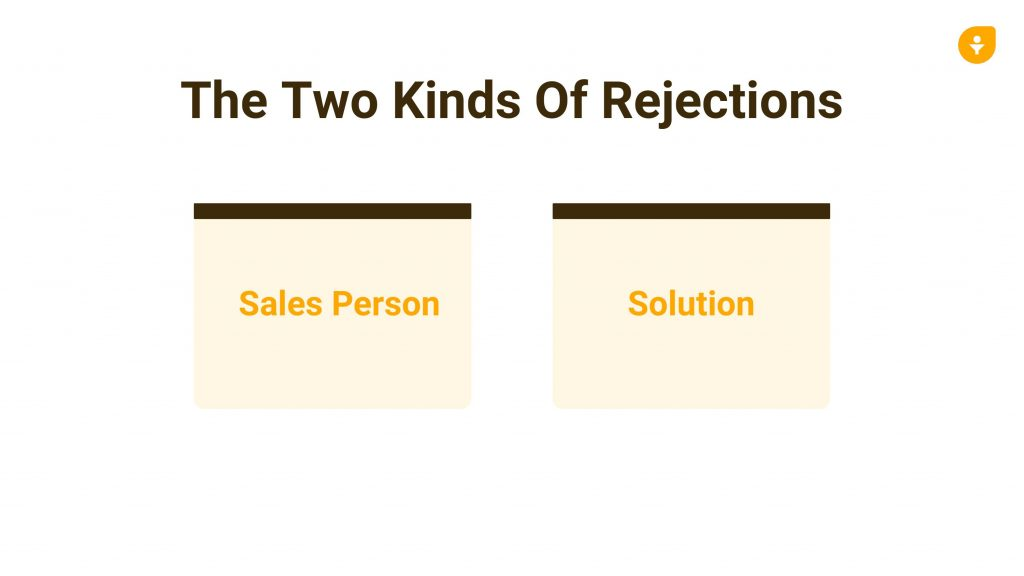 How to sales rejections