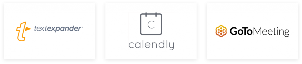 Textexpander Calendly GoToMeeting