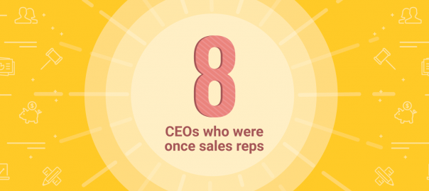 8 CEOs who were once sales reps