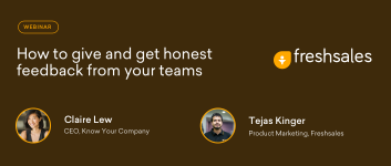 How to give and get honest feedback – Webinar