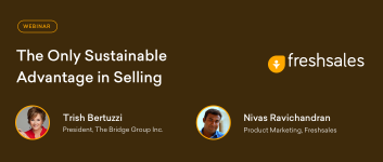 """The Only Sustainable Advantage in Selling"" with Trish Bertuzzi"