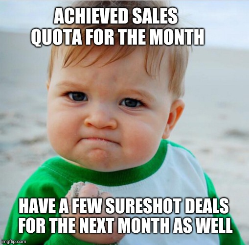 Sales Memes Success Kid