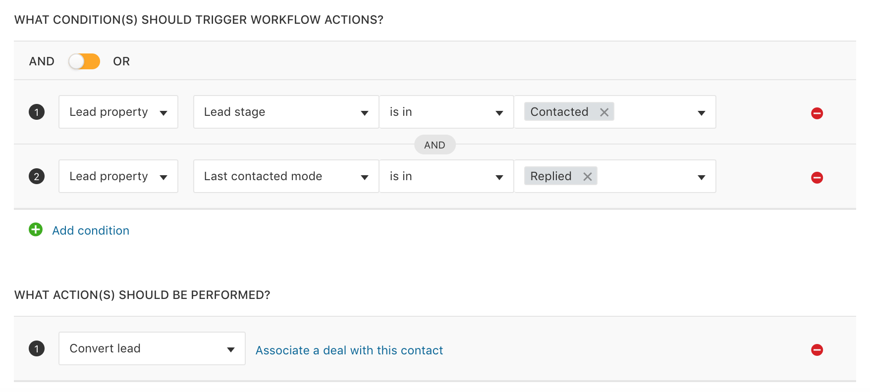 Automations using Workflows in Freshsales