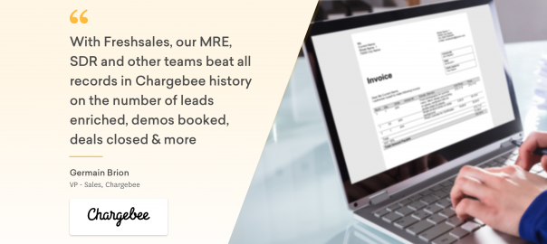 How Chargebee grew hand-in-hand with Freshsales CRM