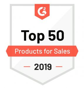 Freshsales Recognized in G2 Crowd's Best Software Awards 2019 Badge