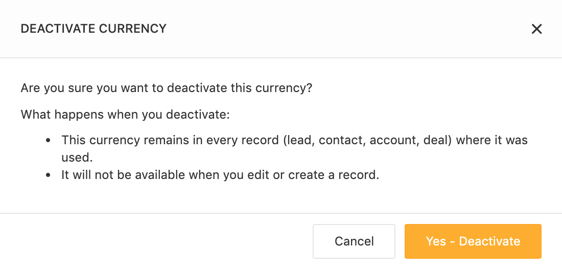 Deactivate-currency-in-Freshsales