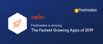 Zapier names Freshsales among the fastest growing apps of 2019