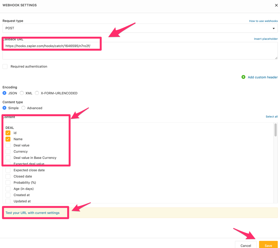 Test and initiate workflow on Freshsales