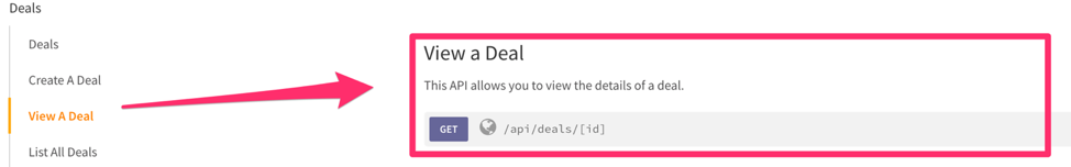 Perform a GET request using Webhooks by Zapier to the Freshsales API to retrieve information associated with the deal
