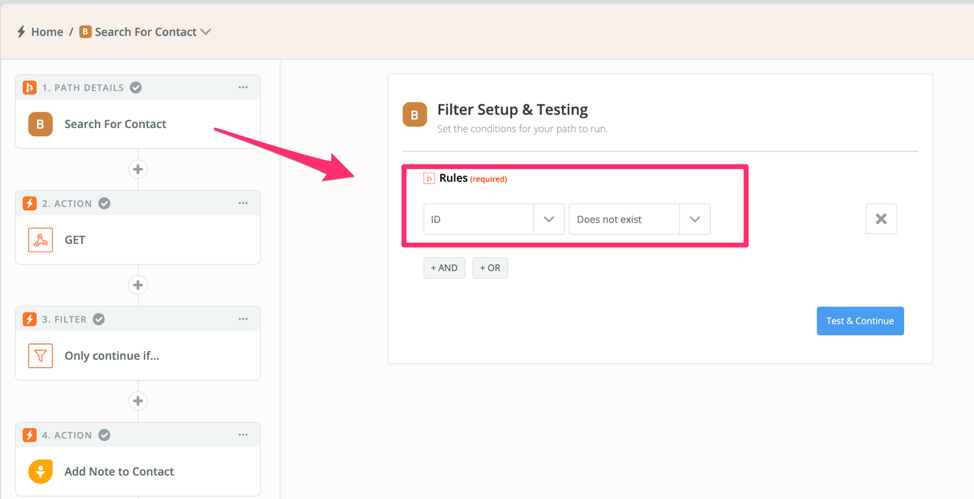 Use a Path to account for texts from both leads and contacts - Zapier - Freshsales