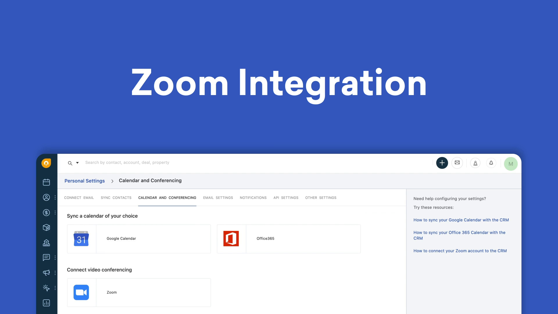 Introducing the Zoom Integration for Freshworks CRM