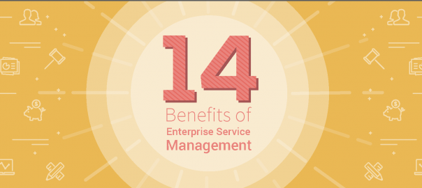14 Benefits of Enterprise Service Management [Infographic]