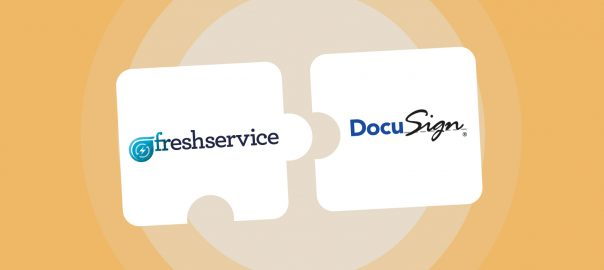 Introducing DocuSign in Freshservice for Paperless Contract Management