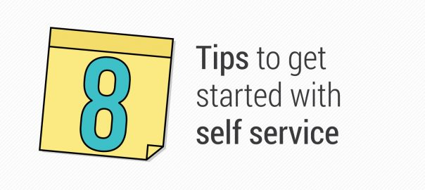 ITSM Infographic: 8 Tips for Getting Started with Self-service
