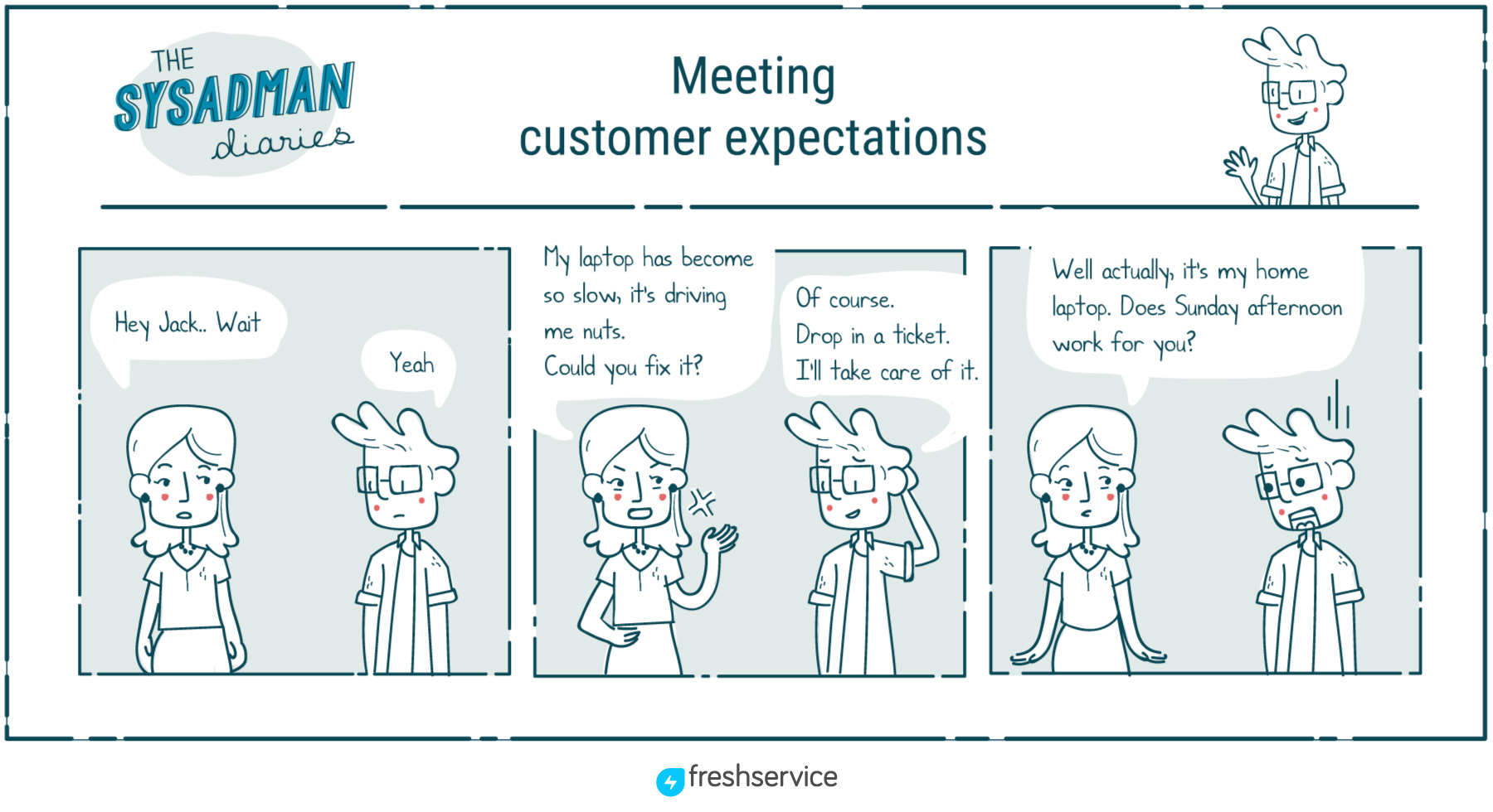 Good ITSM Practices - Meet Customer Expectations