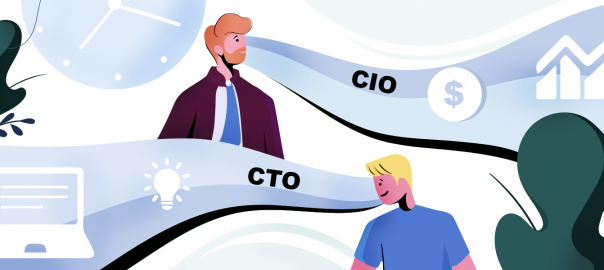 CIO vs CTO- What's the difference anyway?