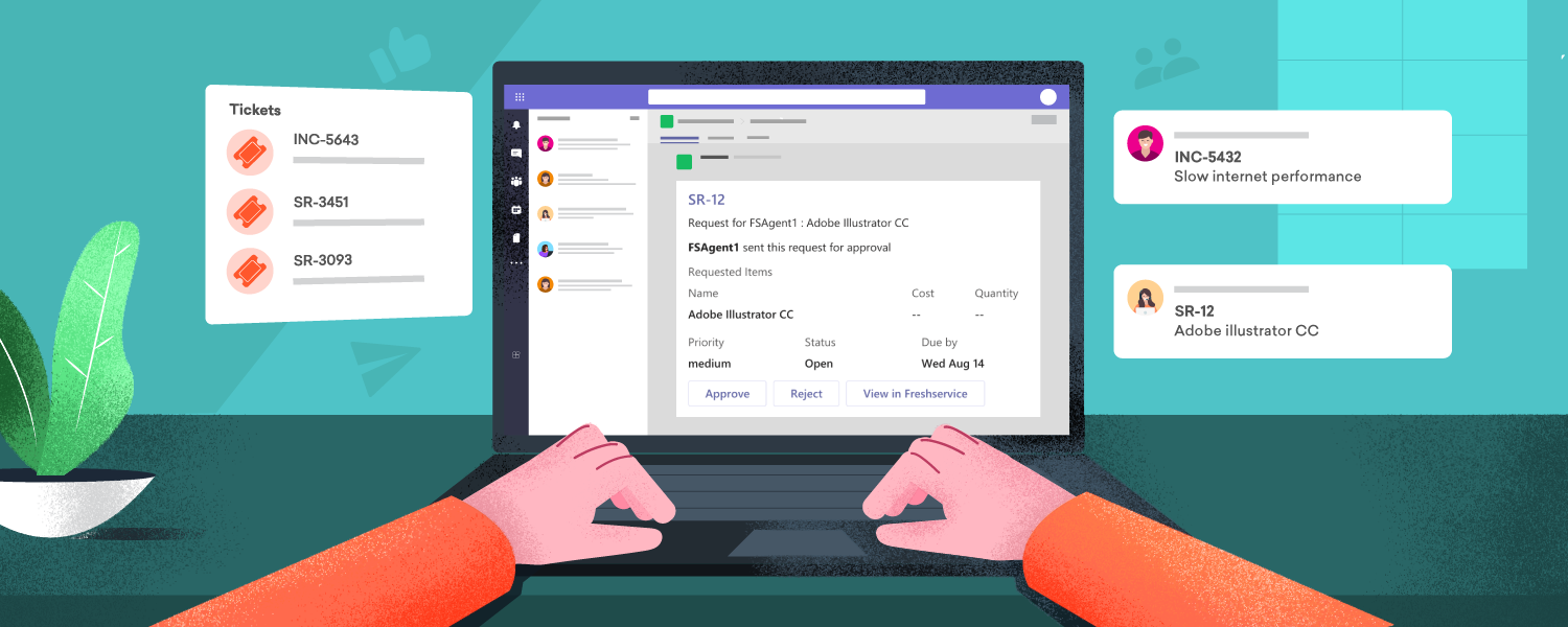 Microsoft Teams and Freshservice