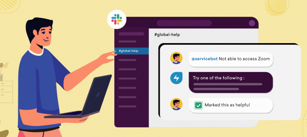 Open new channels to delight your employees- Announcing @mention Virtual Agent on Slack