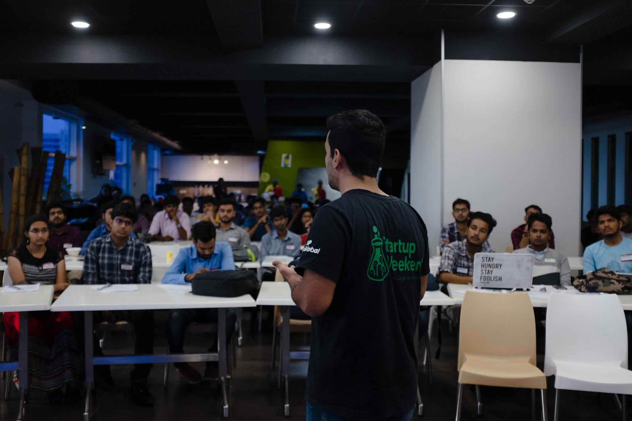 Organizing the Startup Weekend